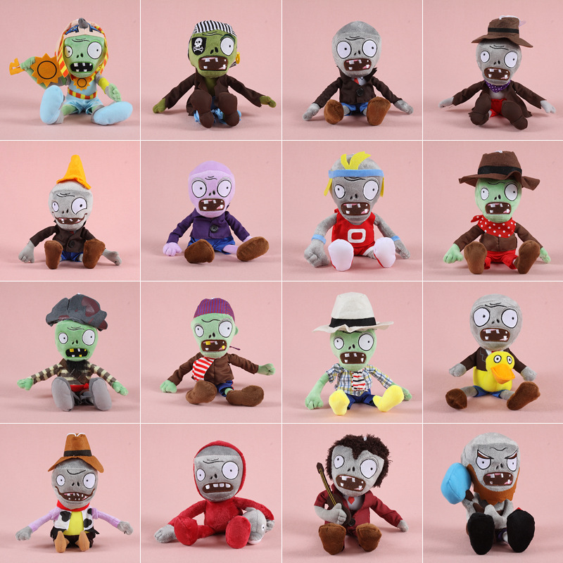 39 Styles 1pcs Plants Vs Zombies Plush Toys 30cm PVZ Zombies Cosplay Plush Stuffed Toys Soft Toy Doll For Children Kids Gifts