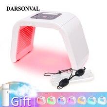 7 Kleur Pdt Photon Led Masker Facial Licht Anti Aging Machine Therapie Huidverjonging Acne Remover Anti Rimpel Spa Beauty