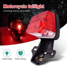 Yeni yükseltilmiş motosiklet LED sinyal lambası arka fren arka lambası CG125 CT 70 CT 90 motosiklet göstergesi flaşör işık CSV