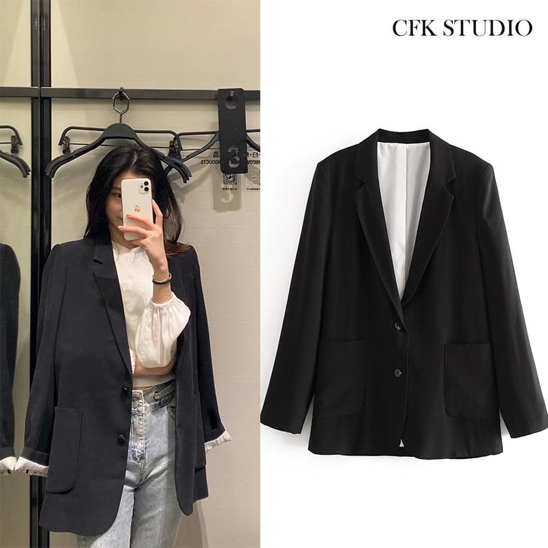 ZA Women Blazer Oversize Jacket