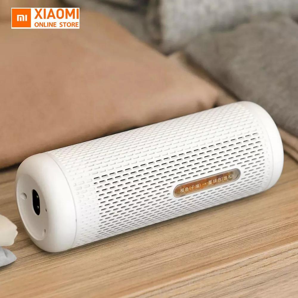 Original Xiaomi Deerma Mini Dehumidifier Household Recycling Moisture Absorption Dehumidification Dryer Ptc Heating Dryer