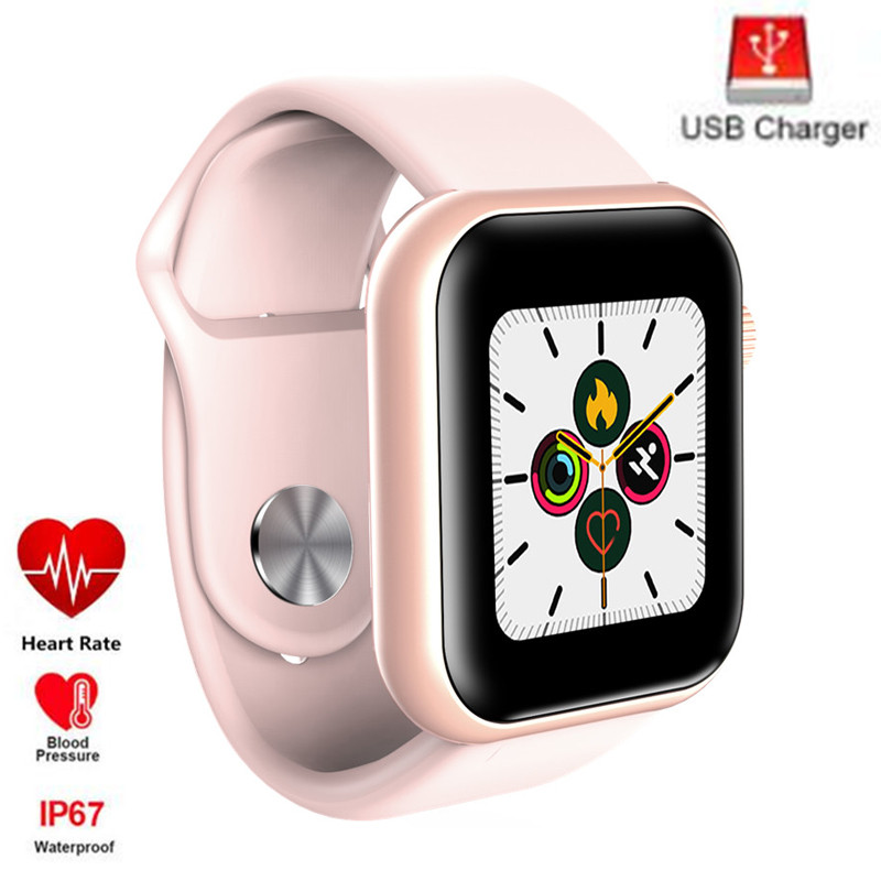 2020 Smart Watch Series 4 Men Women Blood Pressure Heart Rate Waterproof Tracker Sport Clock Watch 5 For Android Apple IOS Phone