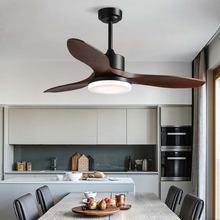 42/48 дюймовые деревянные потолочные вентиляторы с подсветкой