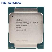 Процессор Intel Xeon E5 1620 V3 SR20P, 3,50 ГГц, 4 ядра, 10 МБ, LGA 2011-3