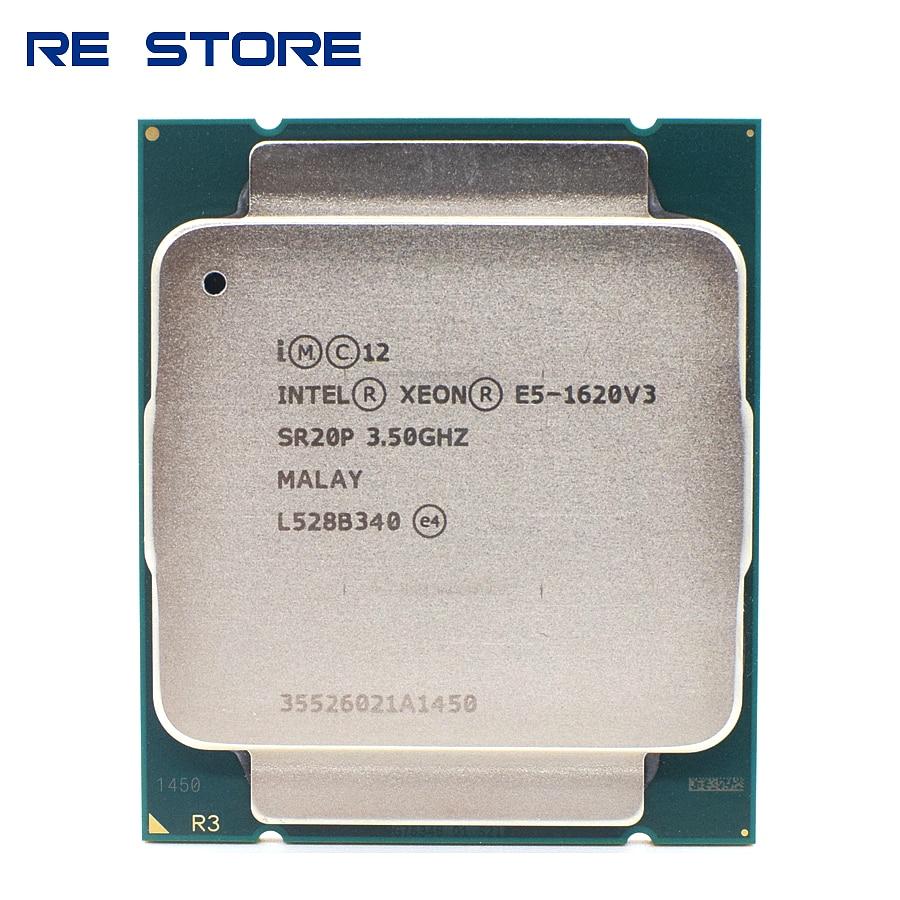 Б/у процессор Intel Xeon E5 1620 V3 SR20P 3,50 ГГц 4 ядра 10 МБ