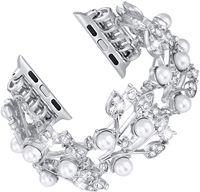 Armband für apple watch band 44mm 42mm 40mm 38mm elastische Perle Perlen Armband Ersatz Cuf Armband Iwatch serie 5 4 3 2