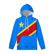 ZAIRE pullover diy free custom made name number zar sweatshirt nation flag za congo country french print text photo clothes