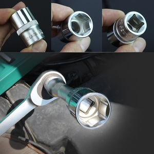Image 5 - LAOA 10PCS 1/2 Hex Socket Wrench Head 12.5mm Used on Ratchet Socket Wrench Torque Spanner Deep Socket Tool From Taiwan