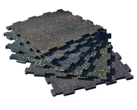 10pcs 50x50x2cm Splicing tapetes de borracha Gym Home/Ginásio Comercial garagem Heavy Duty Borracha extra Espesso Tapete Telha de Revestimento Tapete     -
