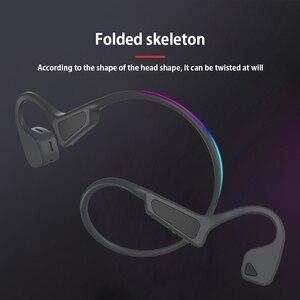 Image 5 - Hohe Qualität Knochen Leitung Headset Drahtlose Bluetooth 5,0 Drahtlose Kopfhörer sport Wasserdichte bluetooth wireless kopfhörer