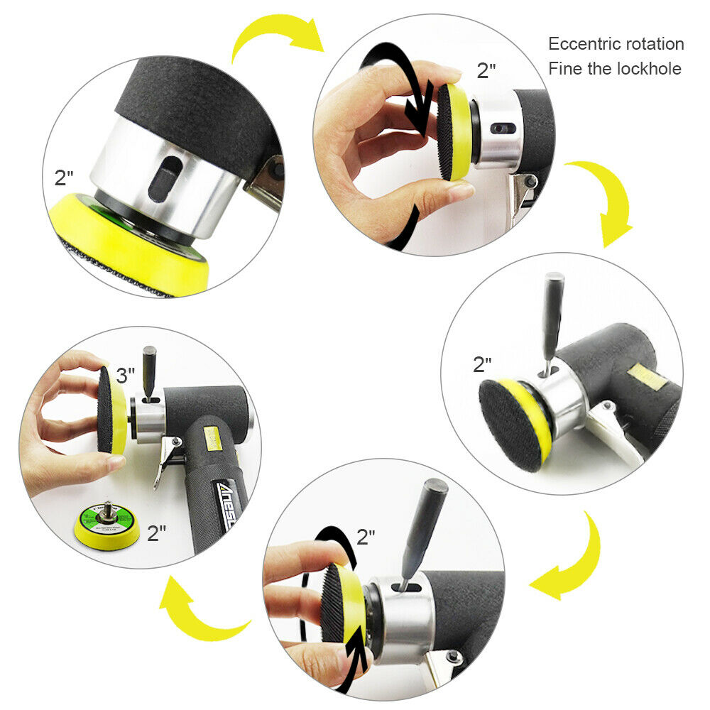 2 Sanding Pneumatic 1 Polisher Action Tools Air Grinder   Orbital 3 Sander  Polishing  Air Sander  Sander Random Mini  Dual Air