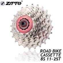 ZTTO 8 speed mountain road cassette flywheel 11-25T 11-32T 11-40T flywheel full silver flywheel 8v 8s MTB cassette sprocket scz e290 flywheel hood