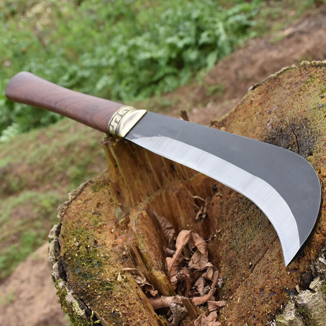 Longquan forging household woodcutting knife outdoor tree cutting knife ghost hand for agricultural woodcutting machete 1