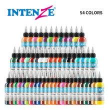 54 Pcs 1 Oz Professional Premium 54 Color Tattoo Ink Pigment Body Art Supplies Set Kits Tattoo & Body Art Tattoo tool