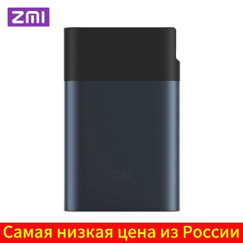 Оригинальный ZMI 3G 4G Wifi роутер 10000 mAh внешний аккумулятор LTE мобильный Hotspot 10000 mAh QC 2,0 Быстрая зарядка аккумулятор внешний аккумулятор