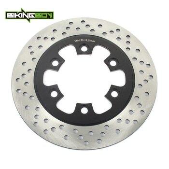 BIKINGBOY For HYOSUNG GT 125 Naked 03-12 GT 125 R 06-14 GT 250 R 07-15 GT 650 S R 05-12 GT 650 X 2007 Rear Brake Disc Disk Rotor фото