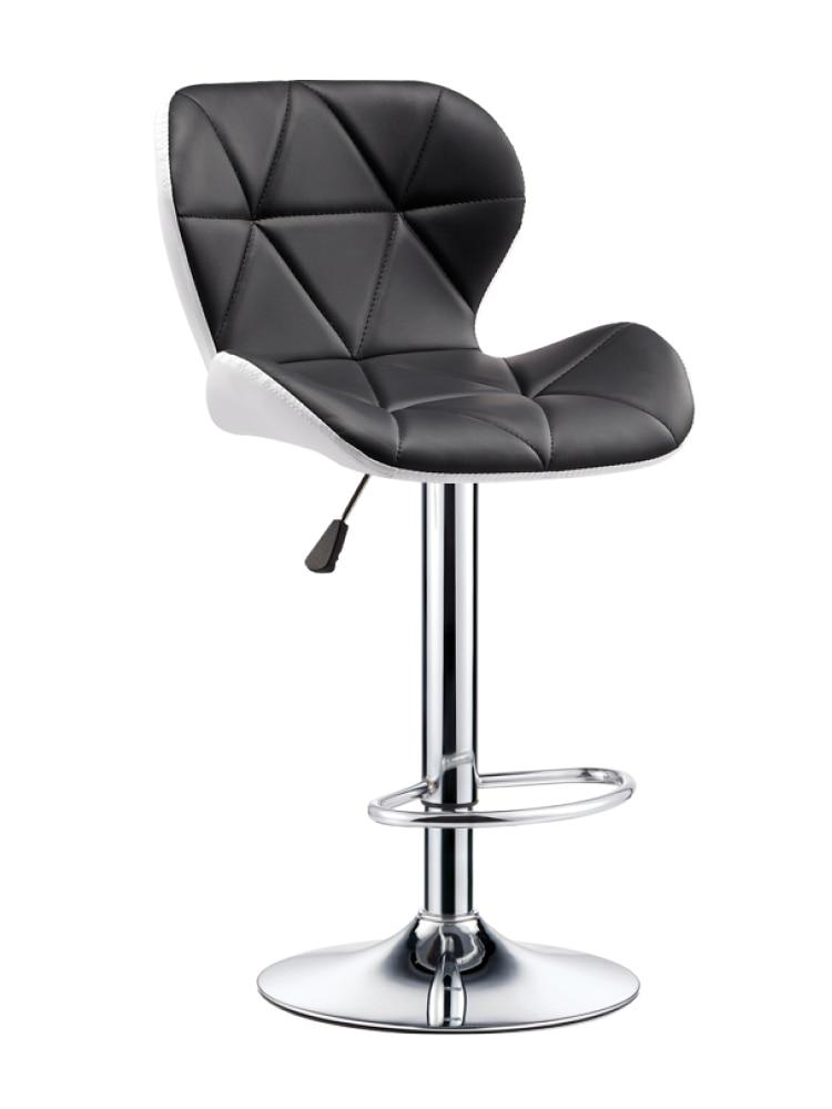 Bar Chair Lift Bar Chair Fashion Creative Beauty Stool Rotating Household Modern Backrest High Bar Table Stool