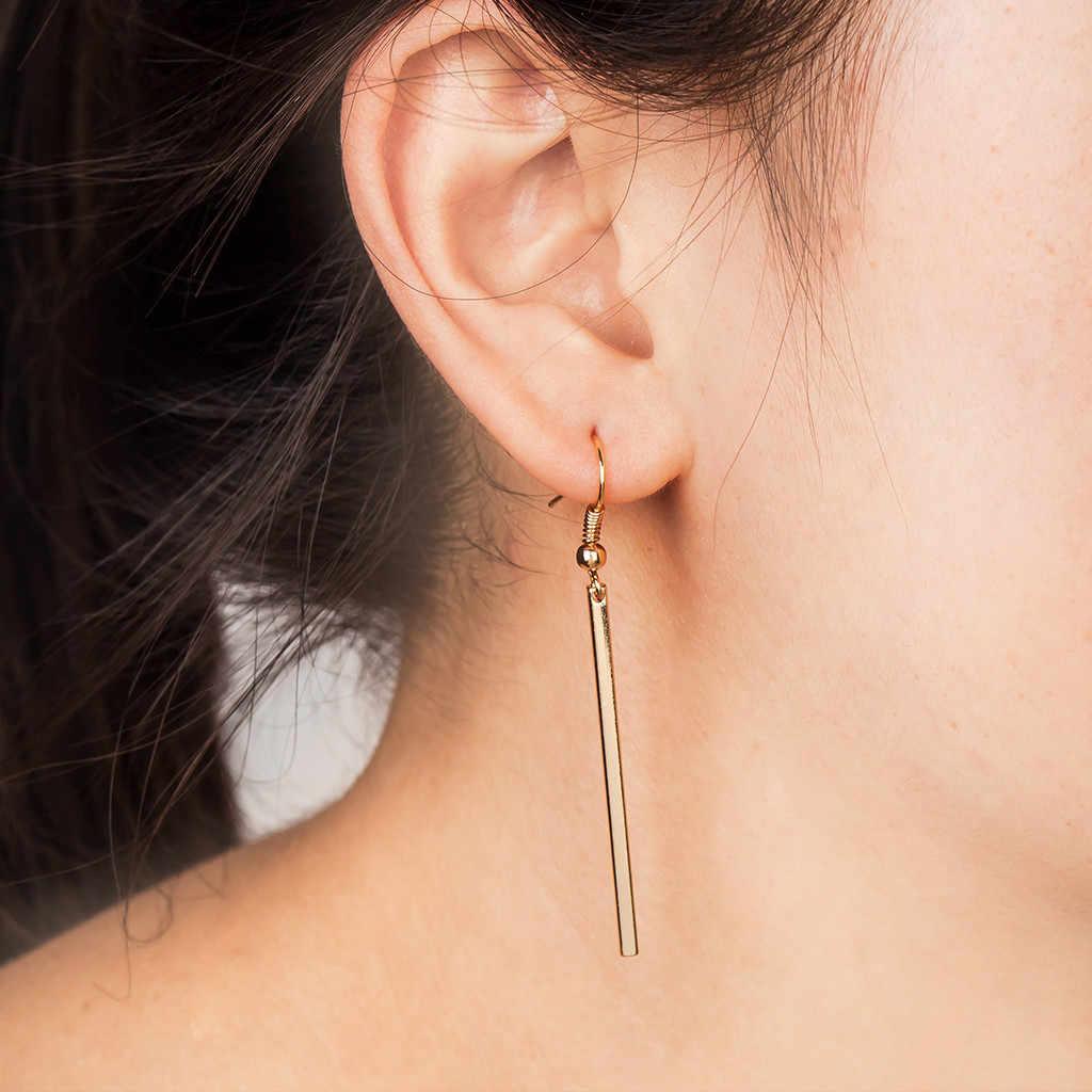 Orecchini dei monili di modo per le donne 1pair Agganciato Rettangolo Orecchini di Modo Della Signora di lusso orecchini regali per le donne