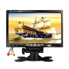 7 TFT LCD Color HD Mirror Monitor for Car Reverse Rear View Backup Camera DVD General Truck Bus Reversing Display  Hotsellling byncg wireless car reverse reversing dual backup rear view camera for trucks bus excavator caravan rv trailer with 7 monitor