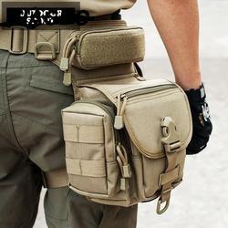 800D مقاوم للماء العسكرية حقيبة متعددة الاستخدامات حقيبة الساق تاكتيكا ميليتا العسكرية هونتنغتول فاني الفخذ حزمة دراجة نارية ركوب الخصر حزمة