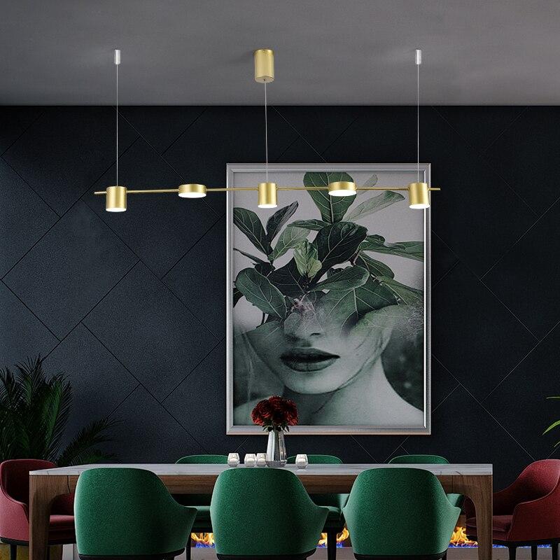 Restaurant chandelier simple modern ...