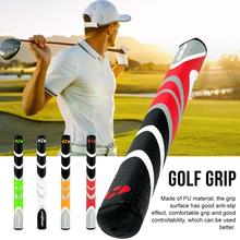 Comfortable Golf Grip Shock-proof Large Lower Hand PU Nonslip Shock Absorber Golf Club Grips Moisture Wicking All-Weather Grip