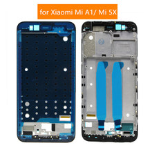 Gift+Front bezel / Middle frame Housing LCD Frame Bezel for Xiaomi Mi 5X / A1(China)