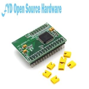 Image 2 - 1pcs 16 ביטים ADC 8CH סנכרון AD7606 נתונים רכישת מודול 200Ksps