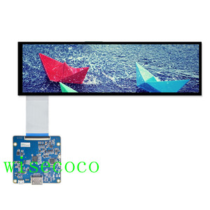 HSD088IPW1-A00 pantalla LCD 8,8 pulgadas 1920*480 lcd HDMI MIPI controlador tablero 40 pines pantalla automotriz 600 brillo