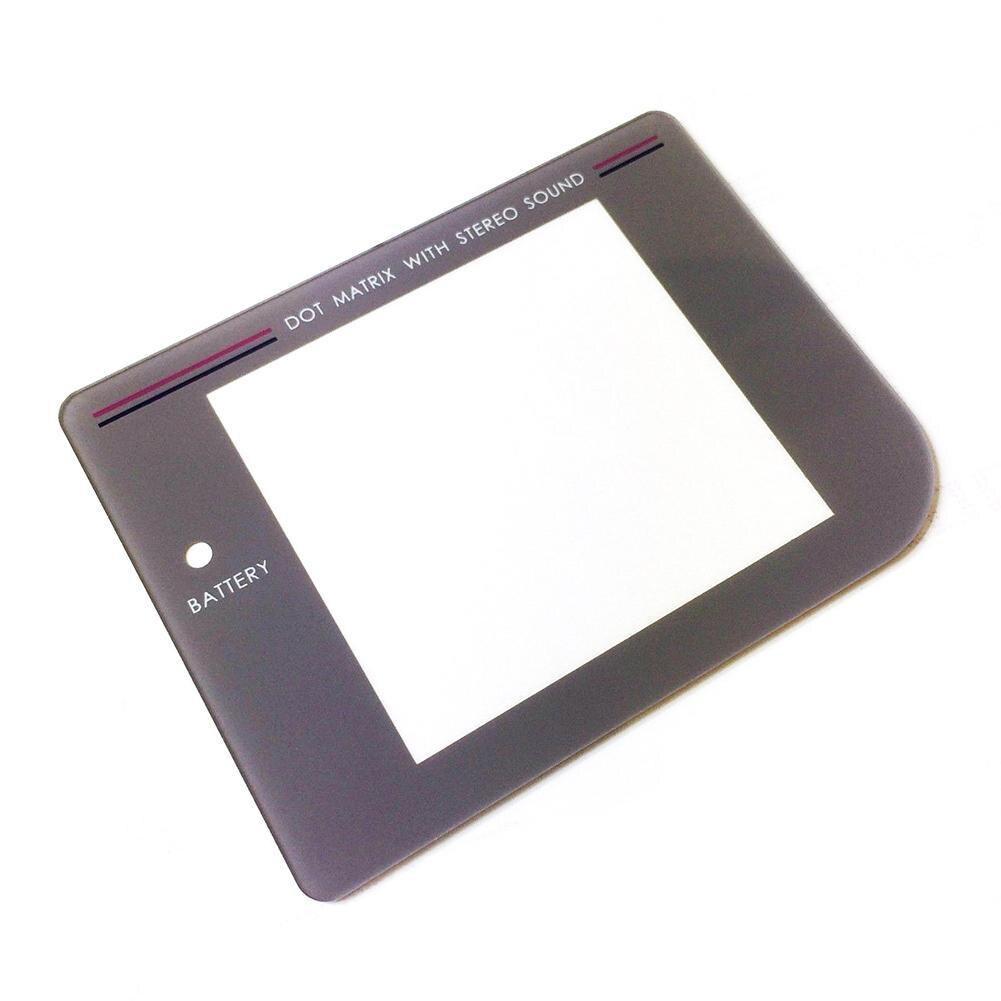 Tela protetora do console do jogo da substituição para o vidro plástico da lente do protetor da tela de exibição do gameboy de nintendo gb/gbc