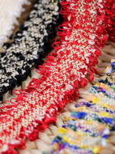 2Meter Colorful Crochet Lace Trims Edge Colthing DIY Sewing Crafts 3cm Width