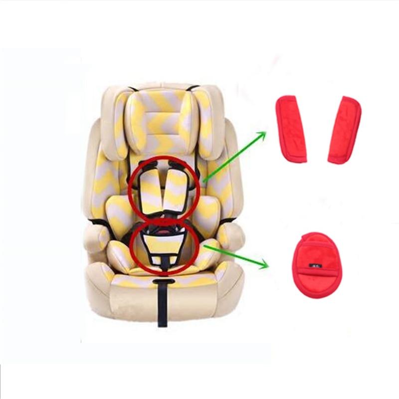 Kids Children Car Safety Cover Shoulder Harness Strap Adjuster Seat Belts Covers