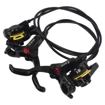 Bicycle Front Rear Hydraulic Disc Brakes Levers Calipers Bike Brake Lever For Mountain Bike MTB Accessories Tools Left Right starpad for xinyuan accessories x2x front disc brakes front and rear sheet for xinyuan x2 x2 x2x brakes 4