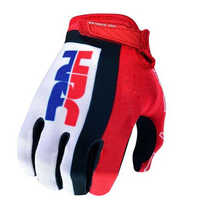 Air Mesh HRC Red Glove Motorcycle MTB Bike Off-road Motocross Motorbike Gloves For Men Woman Unisex