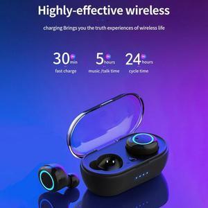 Fast delivery W12 Bluetooth 5.0 Mini Headset TWS Wireless Earphones Earbuds Noise cancel Bluetooth Headphones