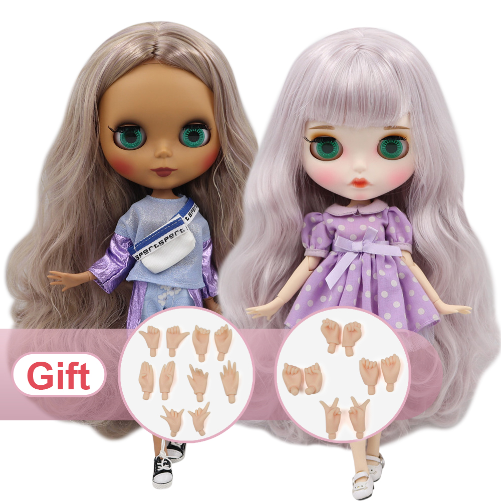 Image 2 - ICY Factory blyth doll nude 30cm Customized doll 1/6 BJD doll with joint body hand sets AB as gift special price-in Dolls from Toys & Hobbies