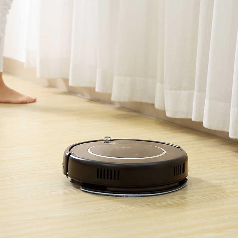 ILIFE V55 Pro aspiradora Robot barrido y mopa húmeda limpieza planificada de pared Virtual potente succión para pelo de mascota y suelo duro