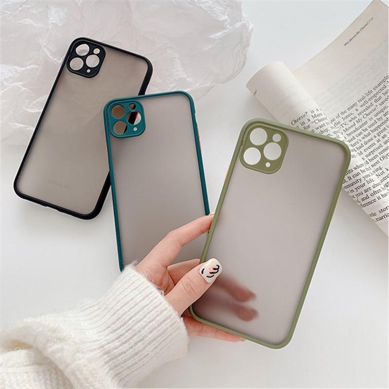 Mint Hybrid Case for iPhone SE (2020) 59