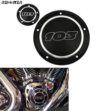 Motorcycle 103 Derby Cover Timer Timing Cover For Harley Dyna Softail Touring Street