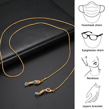 Skyrim Simple Snake Chains for Mask Anti-slip Reading Glasses Chain Lanyard Sunglasses Cord Neck Strap Rope Accessories 2021