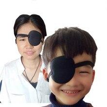 Uitstekende Kwaliteit Nieuwe Gebruik Concave Eye Patch Bril Schuim Groef Wasbare Eyeshades Verstelbare Riem 4 Kleuren