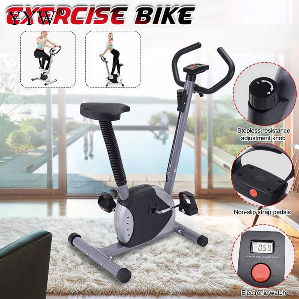 Exercício de Fitness Display Bicicleta Cardio Ferramentas Casa Indoor Ciclismo Trainer Estacionário Corpo Edifício Equipamentos Fitness Led