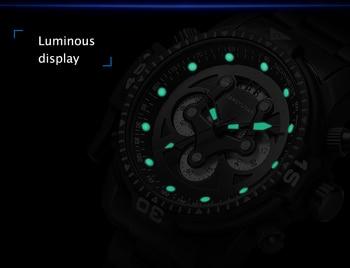 Top Brand Luxury Fashion Men Watches Quartz Watch Men Business Military Chronograph Wristwatch Relogio Masculino erkek kol saati 3