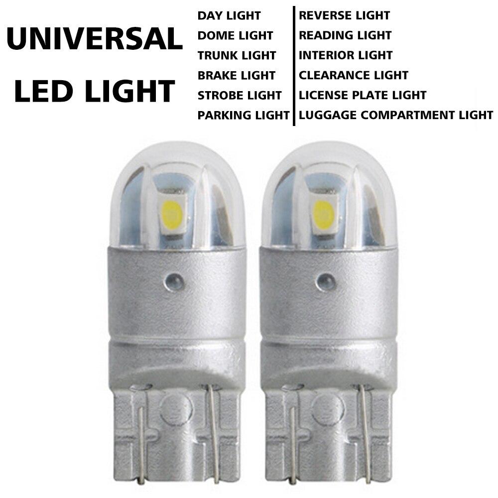 5pcs Amber T10//168//194//175 LED Super Bright backup reverse Lights Parking Bulb
