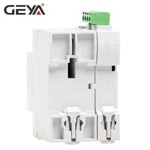 Image 4 - GEYA dispositif de fermeture automatique 6KA ELCB RCCB 2P, disjoncteur, télécommande RCD 40A 63A 30mA