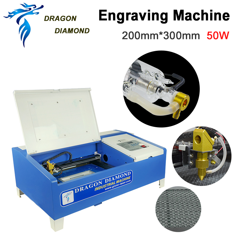 K40 Series: Co2 Laser Engraving Machine Ugrade LZ-M40B 50W CO2 Laser Engraving Cutting Machine Engraver