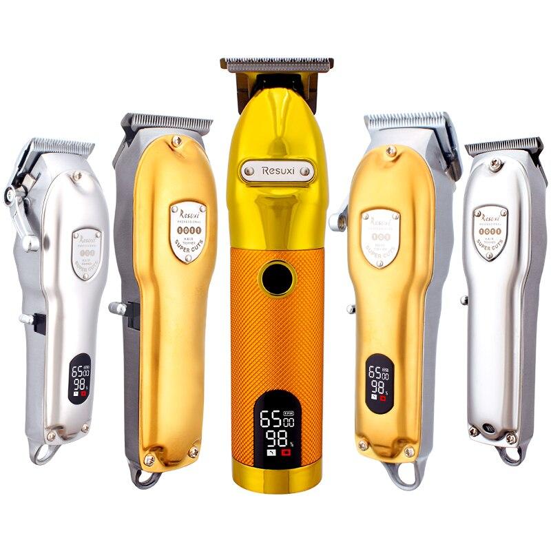 USB-триммер для волос, аккумуляторная машинка для стрижки волос, T-Outliner, Парикмахерская Беспроводная Бритва, триммер для бороды, Бритва для му...