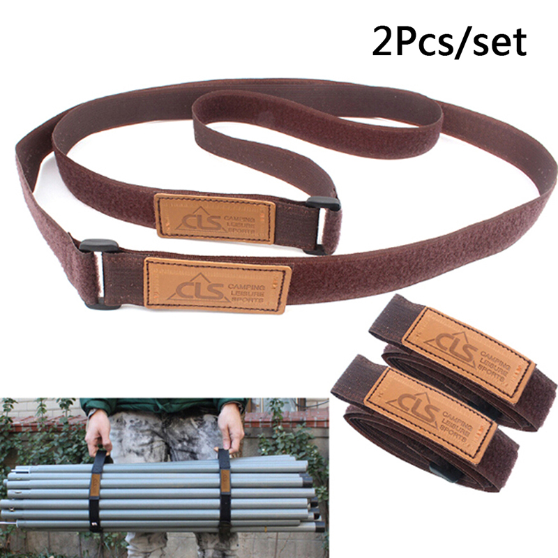 2pcs/lot Adjustable Travel Luggage Suitcase Safe Durable Travel Luggage Strap Suitcase Baggage Belt Tie Outdoor Camping Hiking