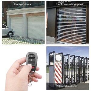 Image 3 - KEBIDU Controller Wireless Clone Switch Cloning Copy 433 MHZ Gate Garage Door Control Duplicator Portal Remote Control