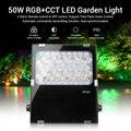 Miboxer FUTC06 RGB + CCT 50 Вт светодиодный садовый светильник AC100 ~ 240 В зеленый Космос/парк/Дорога/украшение умный уличный светильник водонепроницаемы...